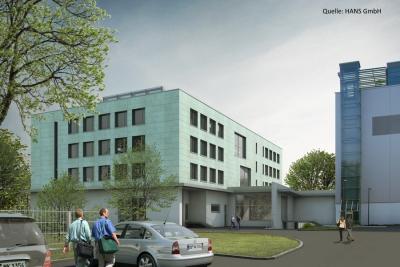 Neubau Verpackungs- und Bürogebäude