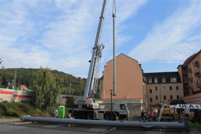 Neubau Heizhaus Freital Potschappel